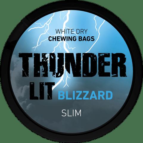 Thunder lit blizzard
