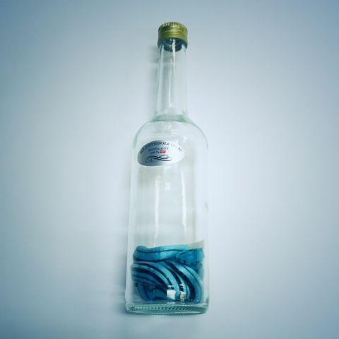 blå lakrids shot