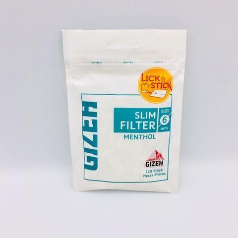 menthol slim filter