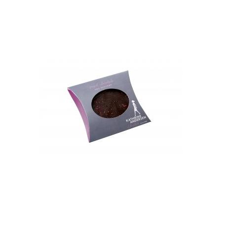 mørk chokolade med skovbær